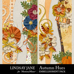 Autumn Hues Borders Pack-$2.49 (Lindsay Jane)