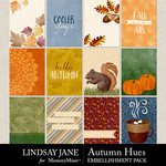 Autumn Hues Journal Cards Pack-$2.49 (Lindsay Jane)