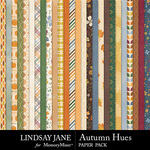 Autumn Hues Paper Pack-$2.99 (Lindsay Jane)