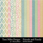 Friends and Family Extra Paper Pack-$3.99 (Tami Miller)