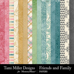 Friends and Family Paper Pack-$3.99 (Tami Miller)