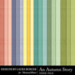 An Autumn Story Solid Paper Pack-$4.99 (Laura Burger)