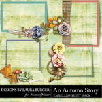An Autumn Story Cluster Pack-$4.99 (Laura Burger)