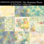 An Autumn Story Artsy Paper Pack-$4.99 (Laura Burger)