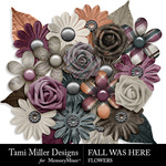 Fall Was Here Flowers Pack-$2.99 (Tami Miller)