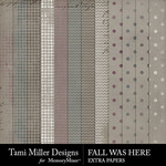 Fall Was Here Extra Paper Pack-$3.99 (Tami Miller)