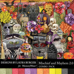 Mischief and Mayhem Combo Pack-$9.99 (Laura Burger)