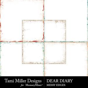 Tmd deardiary edges medium