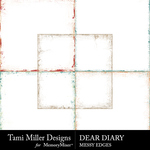 Dear Diary Messy Edges Pack-$2.99 (Tami Miller)