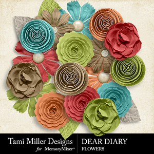 Tmd deardiary flowers medium