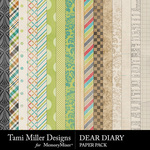 Dear Diary Paper Pack-$3.99 (Tami Miller)