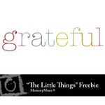 The Little Things WordArt 2 Freebie-$0.00 (Lasting Impressions)