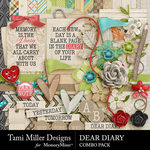 Dear Diary Combo Pack-$6.99 (Tami Miller)