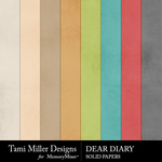 Tmd deardiary solids small