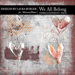 We All Belong Scatters Pack-$4.99 (Laura Burger)
