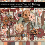 We All Belong Combo Pack-$9.99 (Laura Burger)