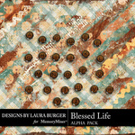 Blessed Life Alphabet Pack-$2.99 (Laura Burger)