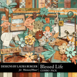 Blessed Life Combo Pack-$9.99 (Laura Burger)