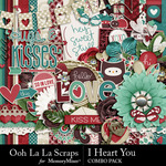 I Heart You OLL Combo Pack-$4.99 (Ooh La La Scraps)