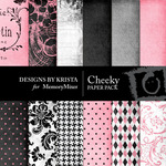 Cheeky Paper Pack-$3.99 (Designs by Krista)