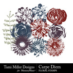 Tmd carpediem floralstamps small