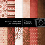 Cherie Paper Pack-$4.00 (Designs by Krista)