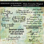 Make Everything Magical WordArt Pack-$4.99 (Laura Burger)