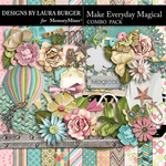 Make Everything Magical Combo Pack-$8.99 (Laura Burger)