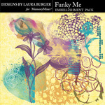 Funky Me Brushes Pack-$4.99 (Laura Burger)