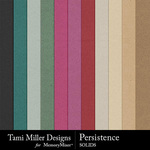 Persistence Solid Paper Pack-$4.99 (Tami Miller)