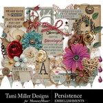 Persistence Embellishment Pack-$4.99 (Tami Miller)