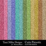 Cutie Patootie Glitter Sheets Pack-$5.49 (Tami Miller)