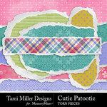 Cutie Patootie Torn Paper Pack-$2.99 (Tami Miller)
