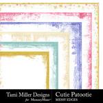 Cutie Patootie Edges Pack-$2.99 (Tami Miller)