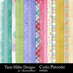Cutie Patootie Paper Pack-$4.99 (Tami Miller)