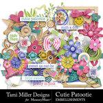 Cutie Patootie Embellishment Pack-$4.99 (Tami Miller)