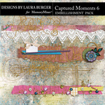 Captured Moments 6 Boders Pack-$5.49 (Laura Burger)