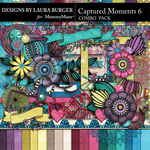 Captured Moments 6 Combo Pack-$9.99 (Laura Burger)