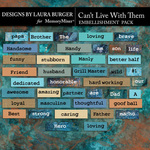 Cant Live With Them Word Pack-$5.99 (Laura Burger)