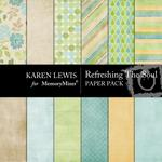 Refreshing the Soul Paper Pack-$4.00 (Karen Lewis)