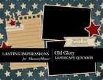 Old Glory QuickMix Landscape-$3.99 (Lasting Impressions)