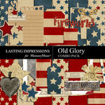 Old Glory Combo Pack-$3.99 (Lasting Impressions)