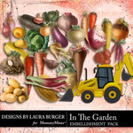 In the Garden Vegetable Pack-$5.99 (Laura Burger)