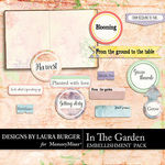 In the Garden Tag Embellishment Pack-$4.99 (Laura Burger)