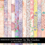 In the Garden Pattern Paper Pack-$4.99 (Laura Burger)