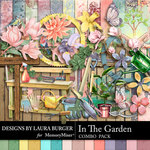 In the Garden Combo Pack-$9.99 (Laura Burger)
