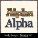 Genuine boy kit alphas small