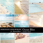 Ocean Bliss Paper Pack 1-$4.19 (Laura Burger)