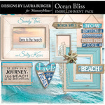 Ocean Bliss Frames and Signs-$4.19 (Laura Burger)