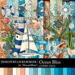 Ocean Bliss Combo Pack-$6.99 (Laura Burger)